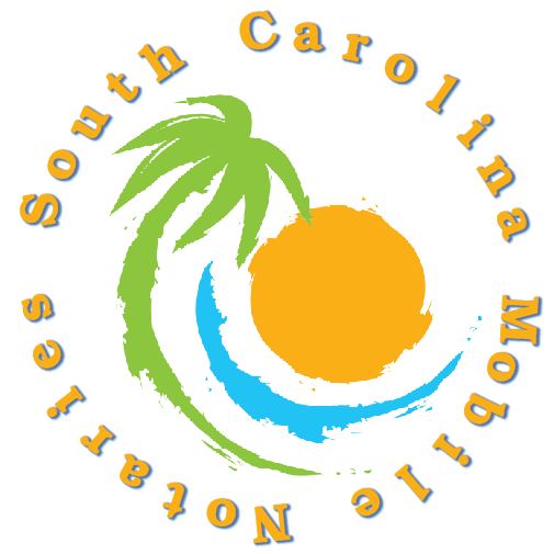 South Carolna Mobile Notaries; mobile notary service; traveling notary public; wedding officiants; signing agents;
