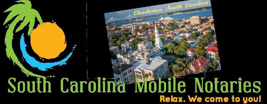 Charleston South Carolna Mobile Notaries; Charleston mobile notary service; traveling notary public Charleston; Charleston wedding officiants; signing agents Charleston, SC