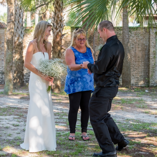 Myrtle Beach Wedding Officiant Atalaya Castle Huntington State Park